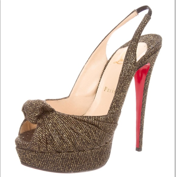 cc545f6db Christian Louboutin Shoes - Christian Louboutin Jenny 150 Lady Glitter